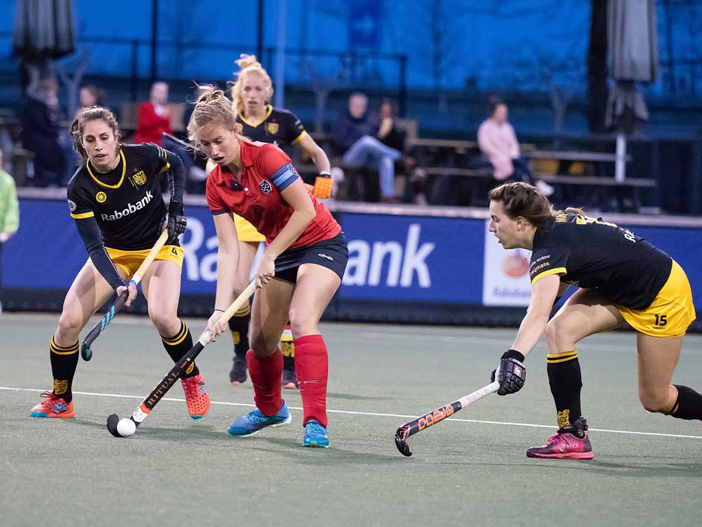HK foto's (D): Den Bosch-Nijmegen 2-1