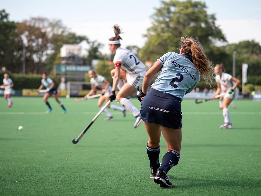 Gold Cup 2019: De dames van Laren winnen eerste test tegen SCHC