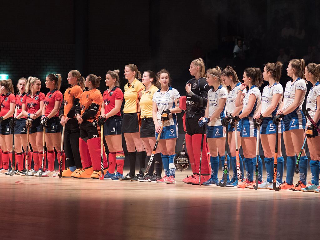 Finale HK Zaal foto's (D): Kampong-Laren 2-6