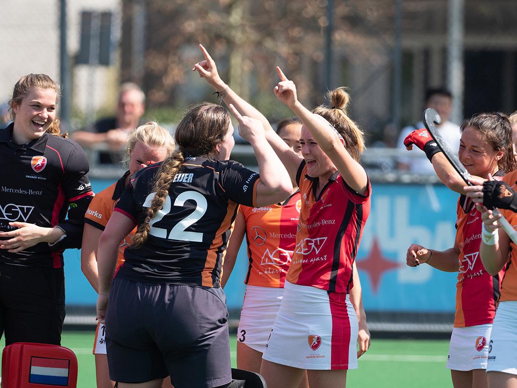 HK samenvatting (D): Laren-Oranje-Rood 0-4