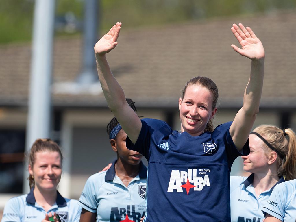 Joyce Sombroek: 'Met heel veel trots terugkijken op carrière'