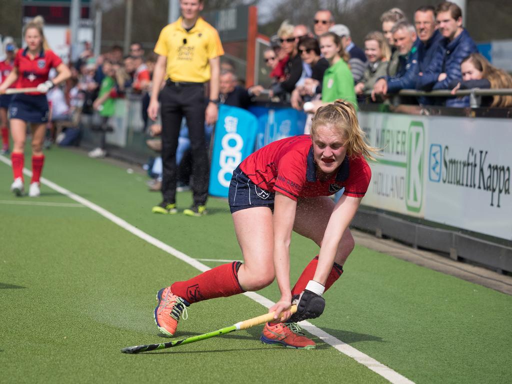Elin van Erk speelt komend seizoen bij Victoria