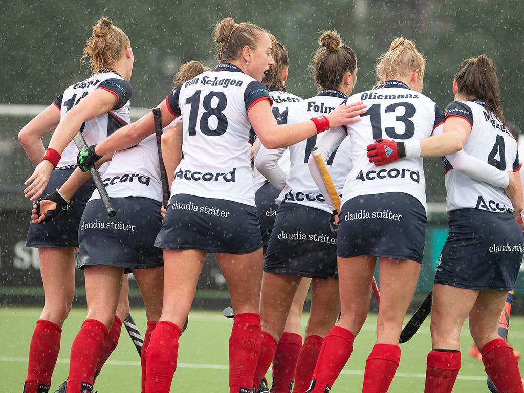 Schema play-outs Hoofdklasse Heren en Dames