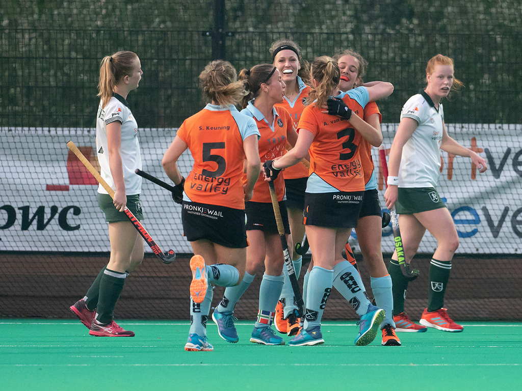 Play-outs foto's (D): Rotterdam-Groningen 2-4