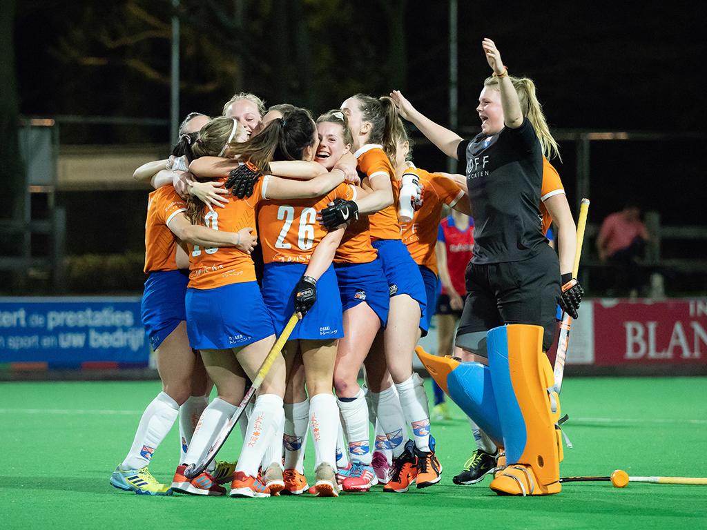 Gold Cup foto's (D): SCHC-Bloemendaal 1-1