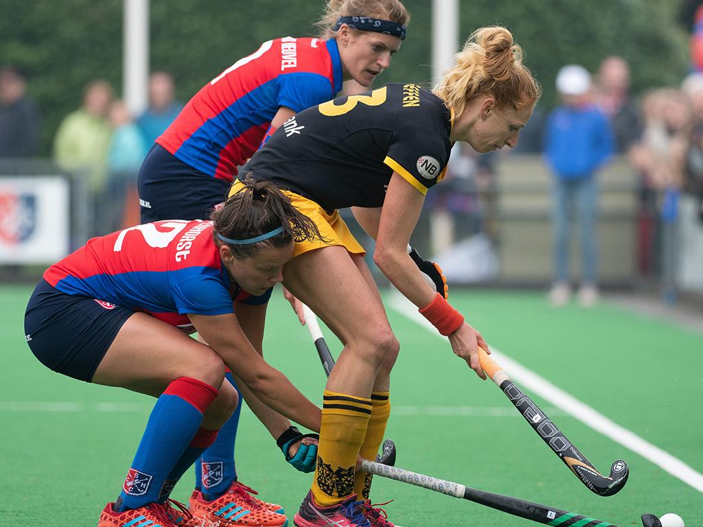 Play-offs HK foto's (D): SCHC-Den Bosch 0-1