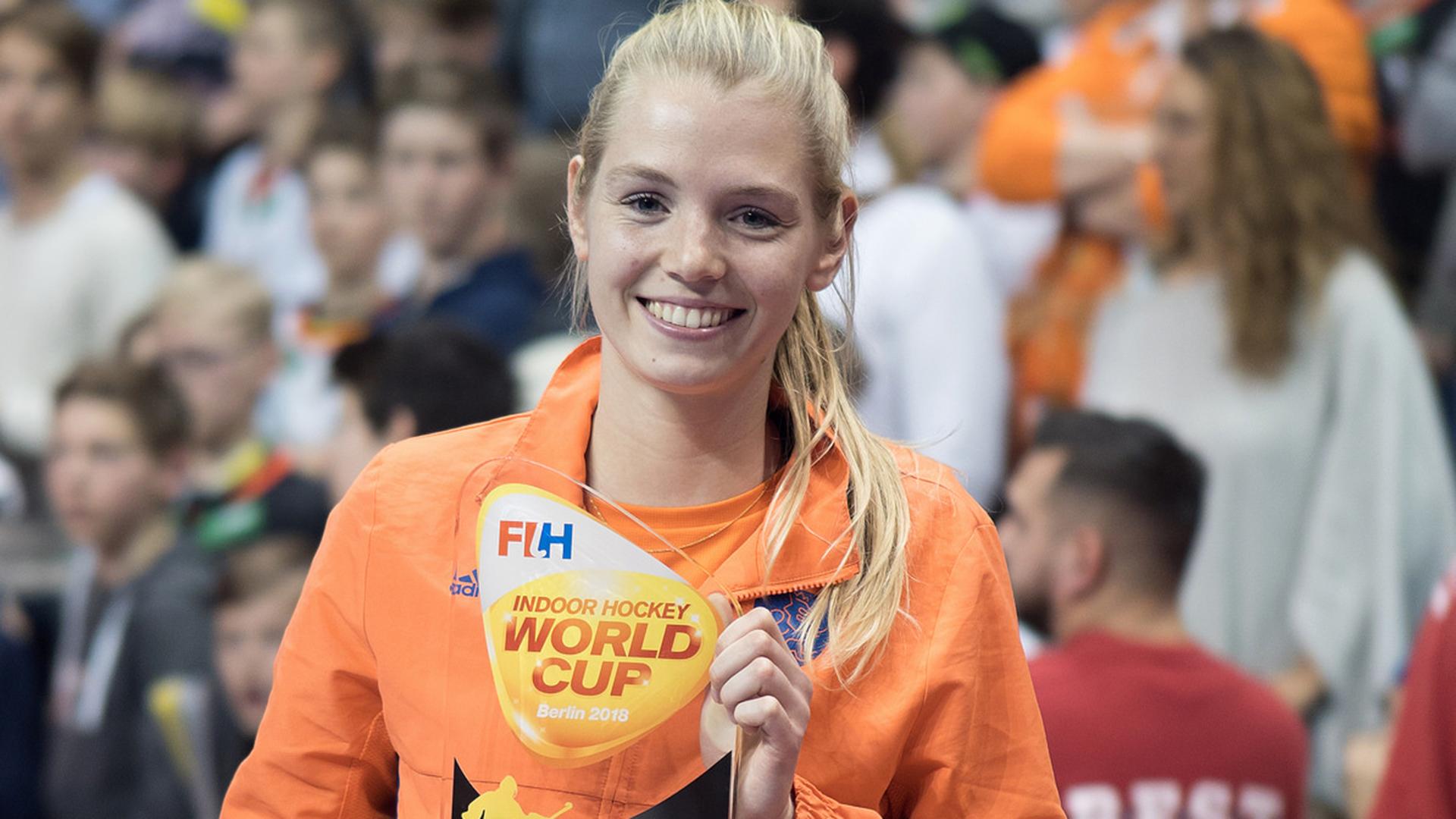 WK Zaal (D): Alexandra Heerbaart individueel in de prijzen