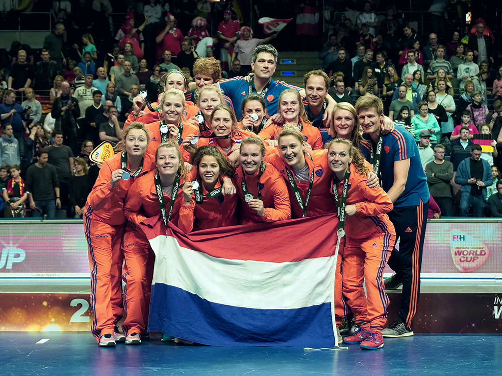 WK Zaal foto's (D): Nederland-Duitsland 1-2