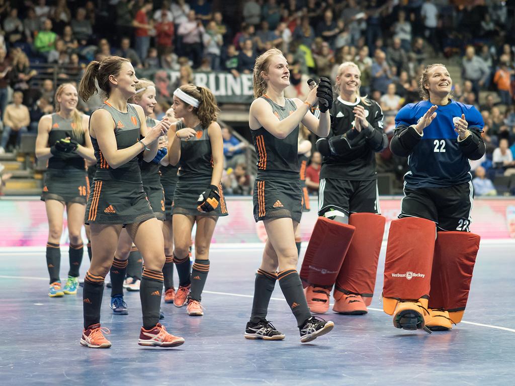 WK Zaal foto's (D): Nederland-Oekraïne 6-1