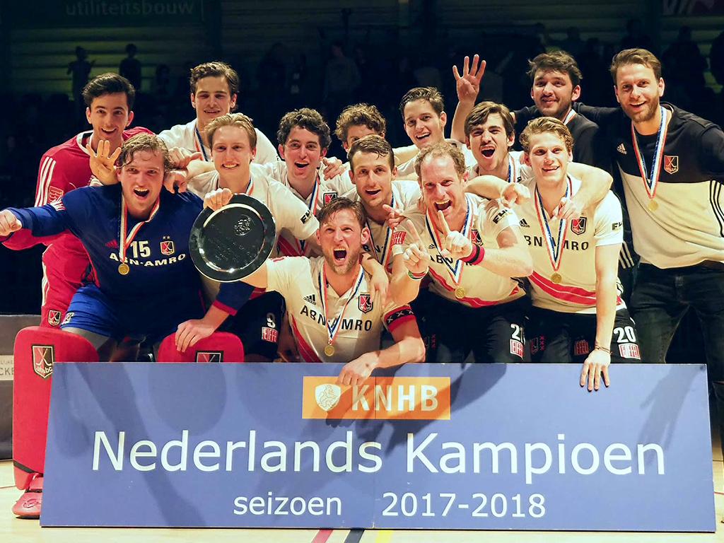 Finale HK Zaal (H): Vierde titel op rij voor Amsterdam