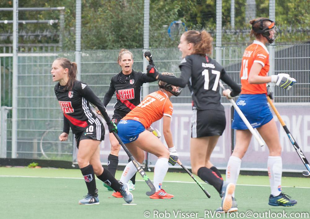 HK foto's (D): Amsterdam-Bloemendaal 1-0