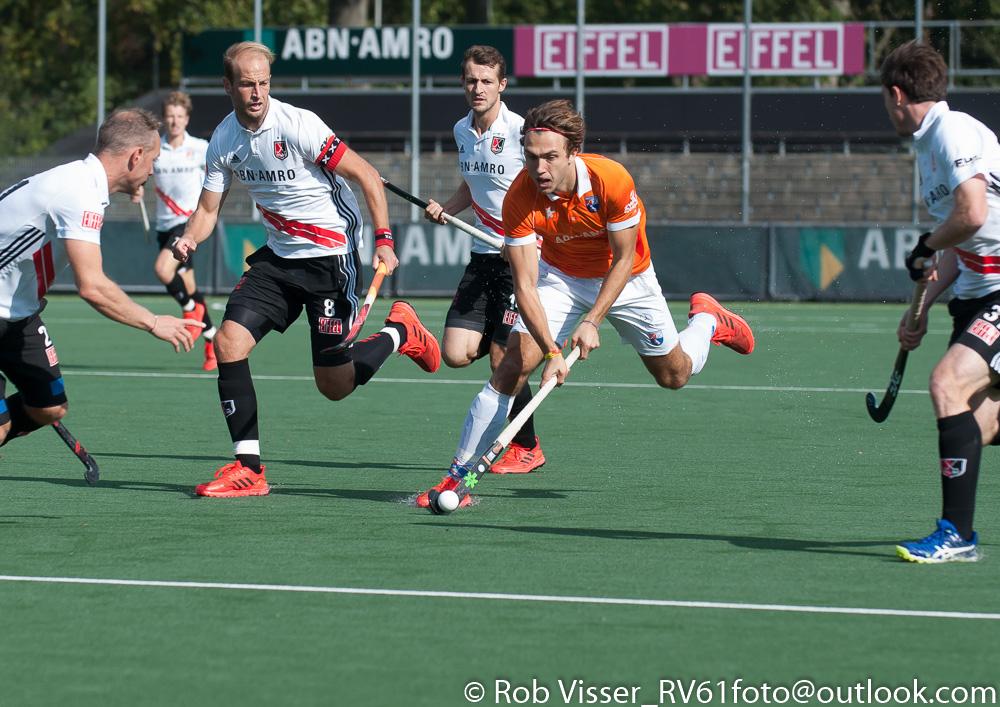 Liveverslag play-offs HK (H): Bloemendaal - Amsterdam (Bloemendaal wint met shoot-outs)