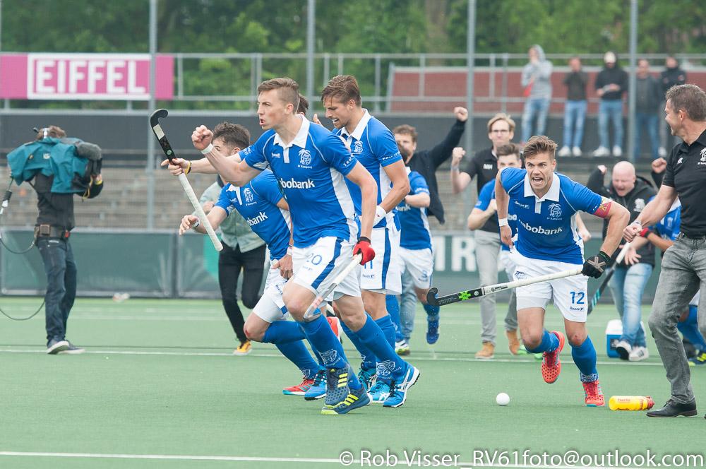 Play-offs HK foto's (H): Amsterdam-Kampong 1-1