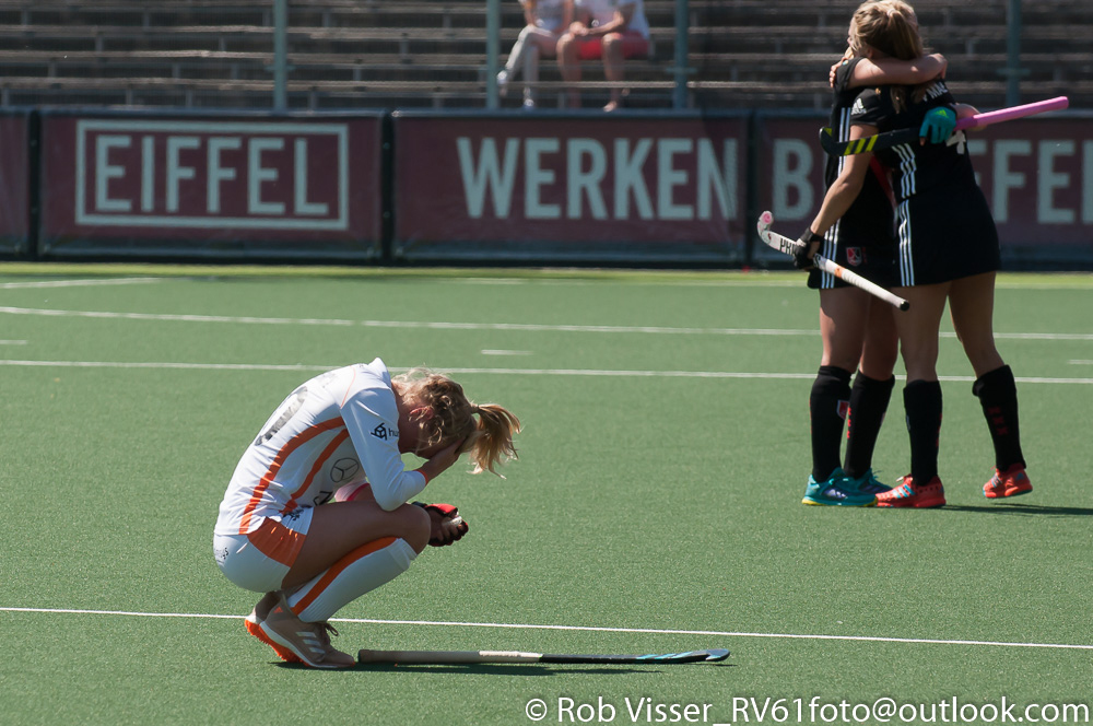 Play-offs HK foto's (D): Amsterdam-Oranje-Rood 2-1