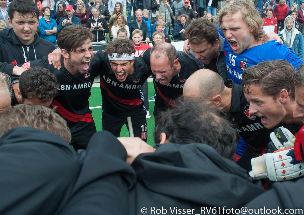 Play-offs HK (H): Amsterdam ten koste van Bloemendaal naar finale