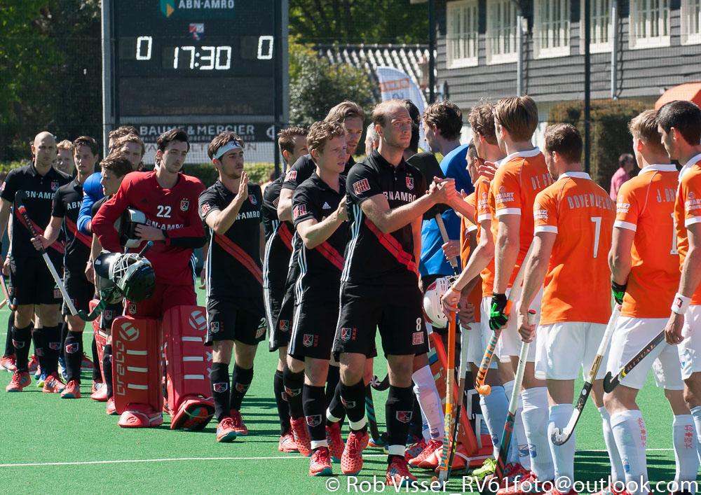 Play-offs HK samenvatting (H): Bloemendaal-Amsterdam 2-2