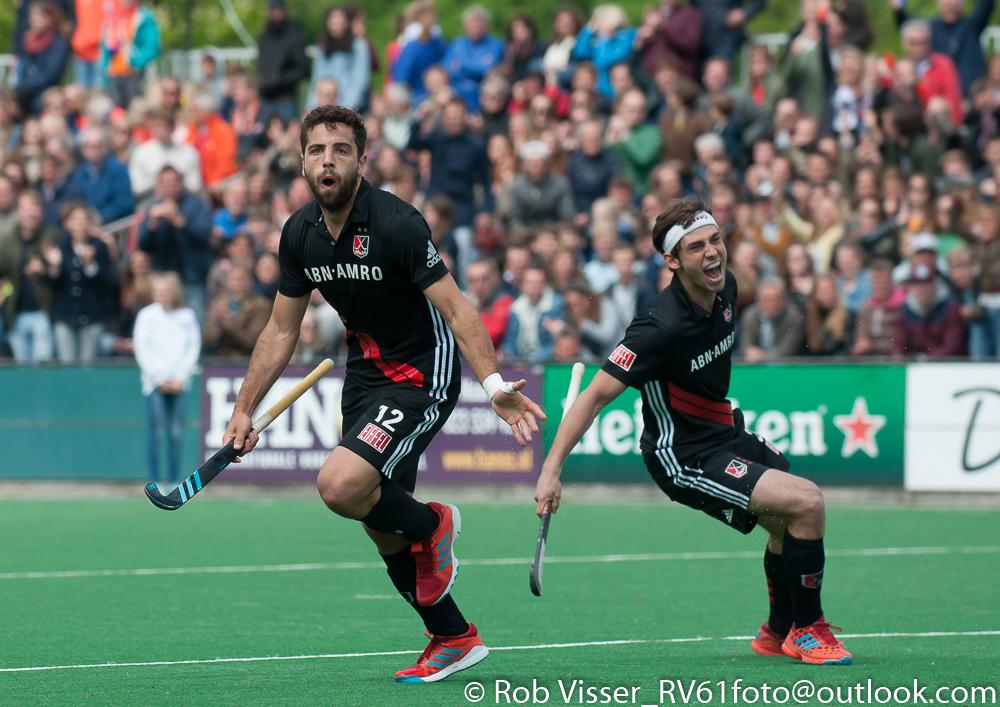Play-offs HK samenvatting (H): Bloemendaal-Amsterdam 0-3