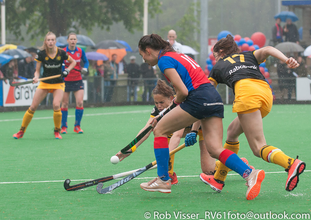 Play-offs HK (D): Den Bosch wint eerste duel van SCHC