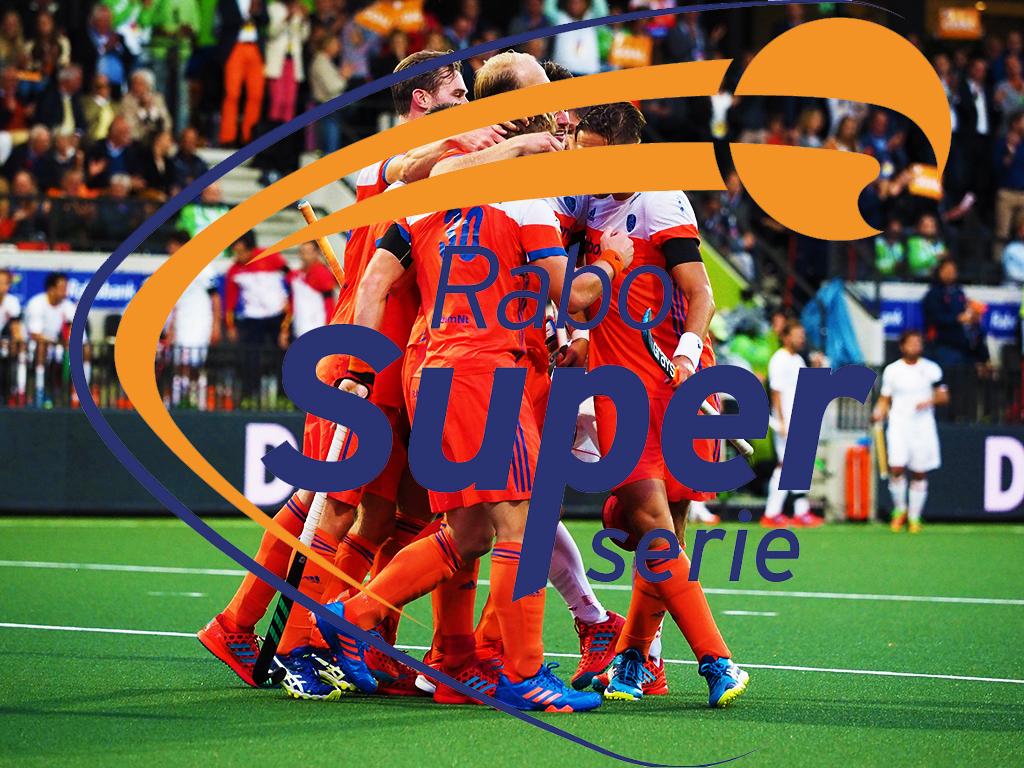 Rabo Super Serie (H): Oranje verslaat Frankrijk