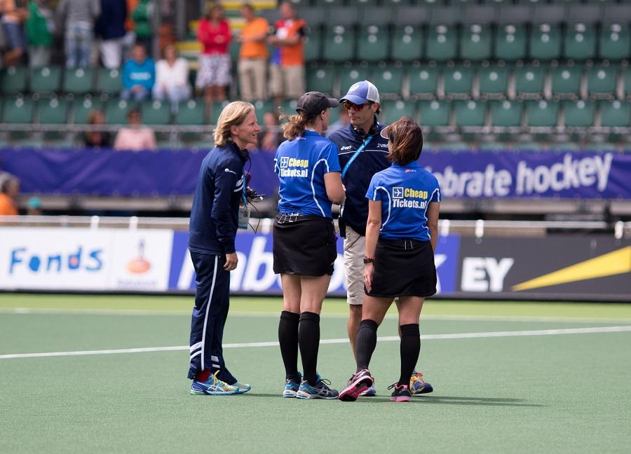 Janneke Schopman heeft ervaring als bondscoach van de Verenigde Staten.