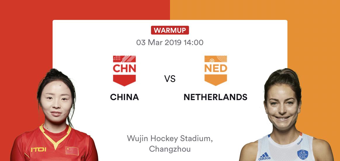 LIVE: Pro League China - Nederland zondag Nederlandse tijd 07.00 uur