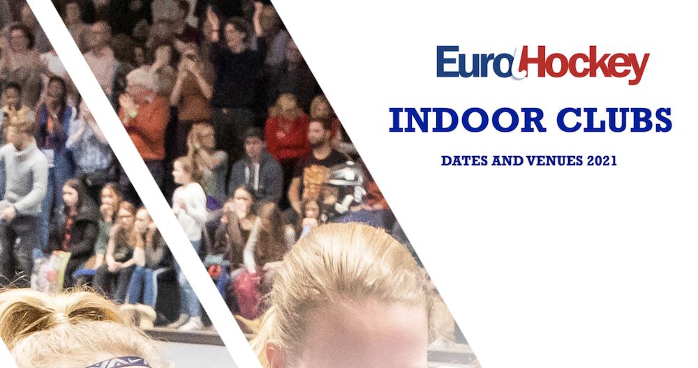 Loting EK zaalhockey bekend voor Laren en Amsterdam