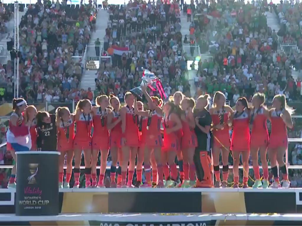 WK samenvatting (D): Nederland-Ierland 6-0