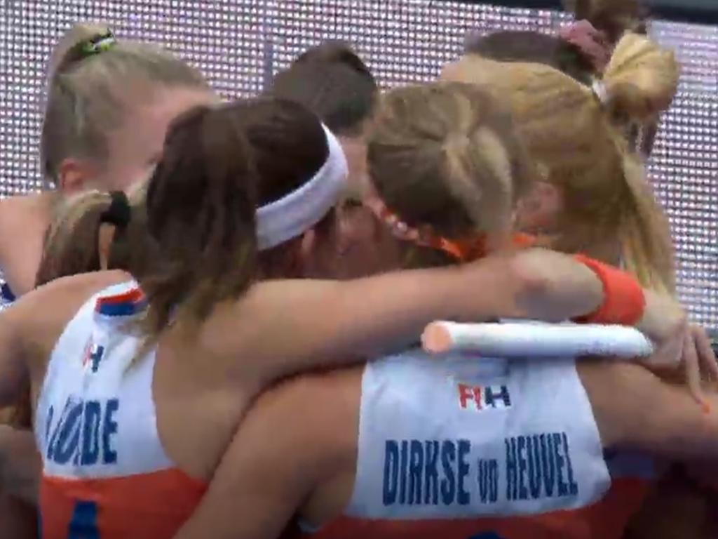 WK samenvatting (D): Nederland-Zuid-Korea 7-0