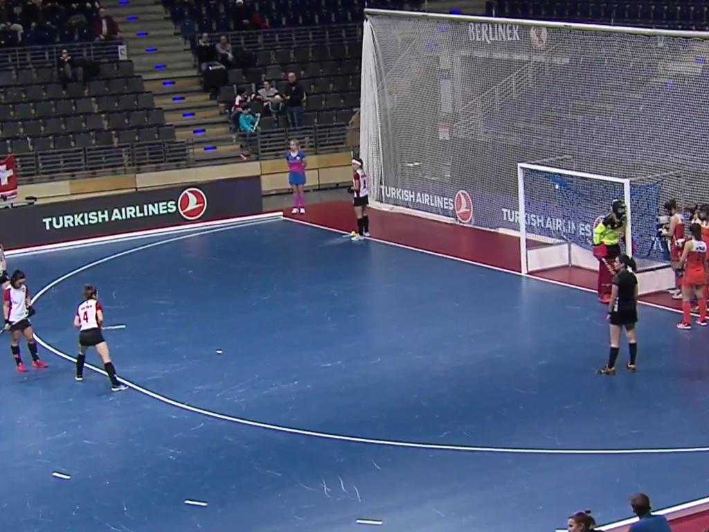 WK Zaal video (D): Nederland-Polen (4-3)