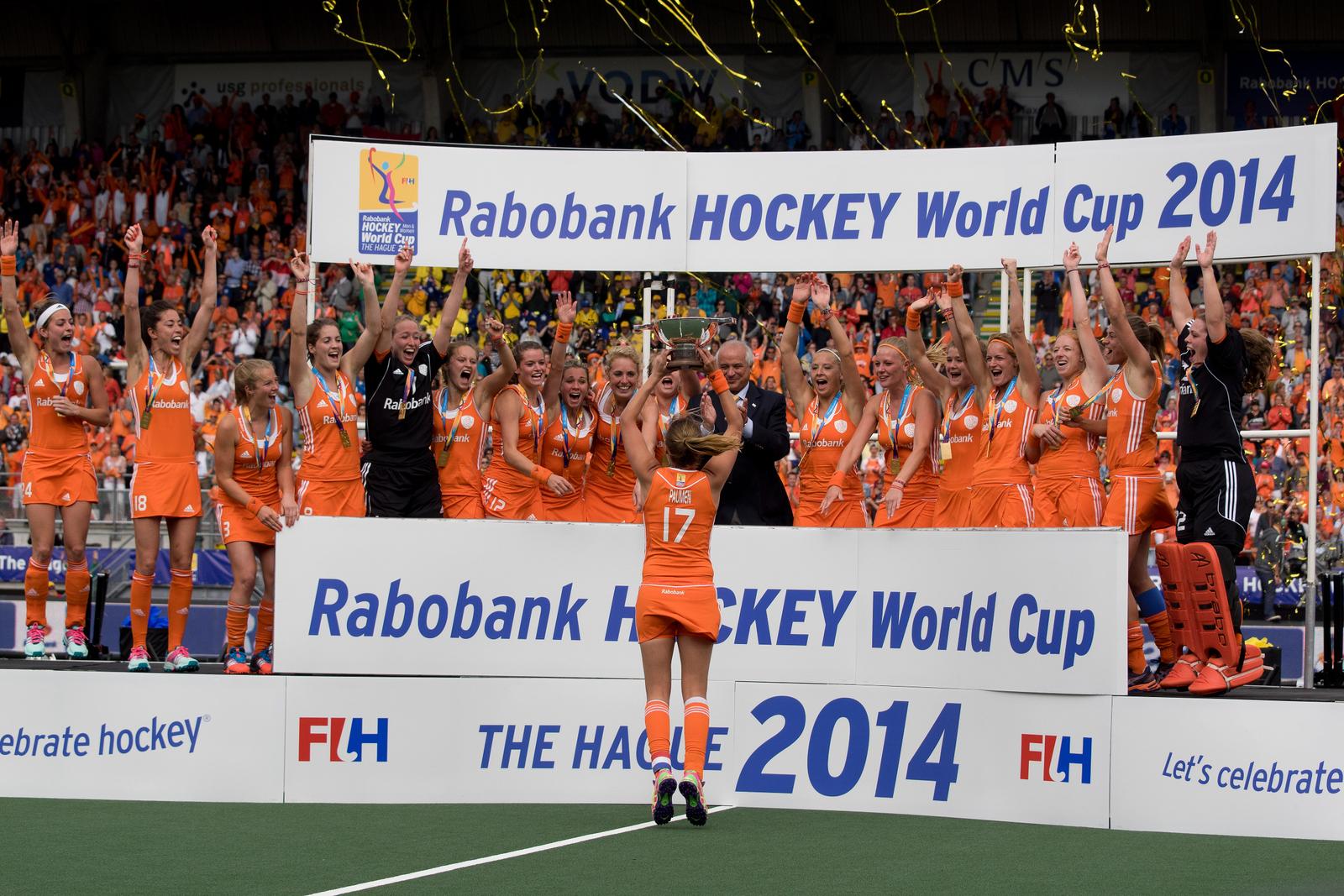 Video: Terugblik op het WK-goud van de Oranjedames in 2014