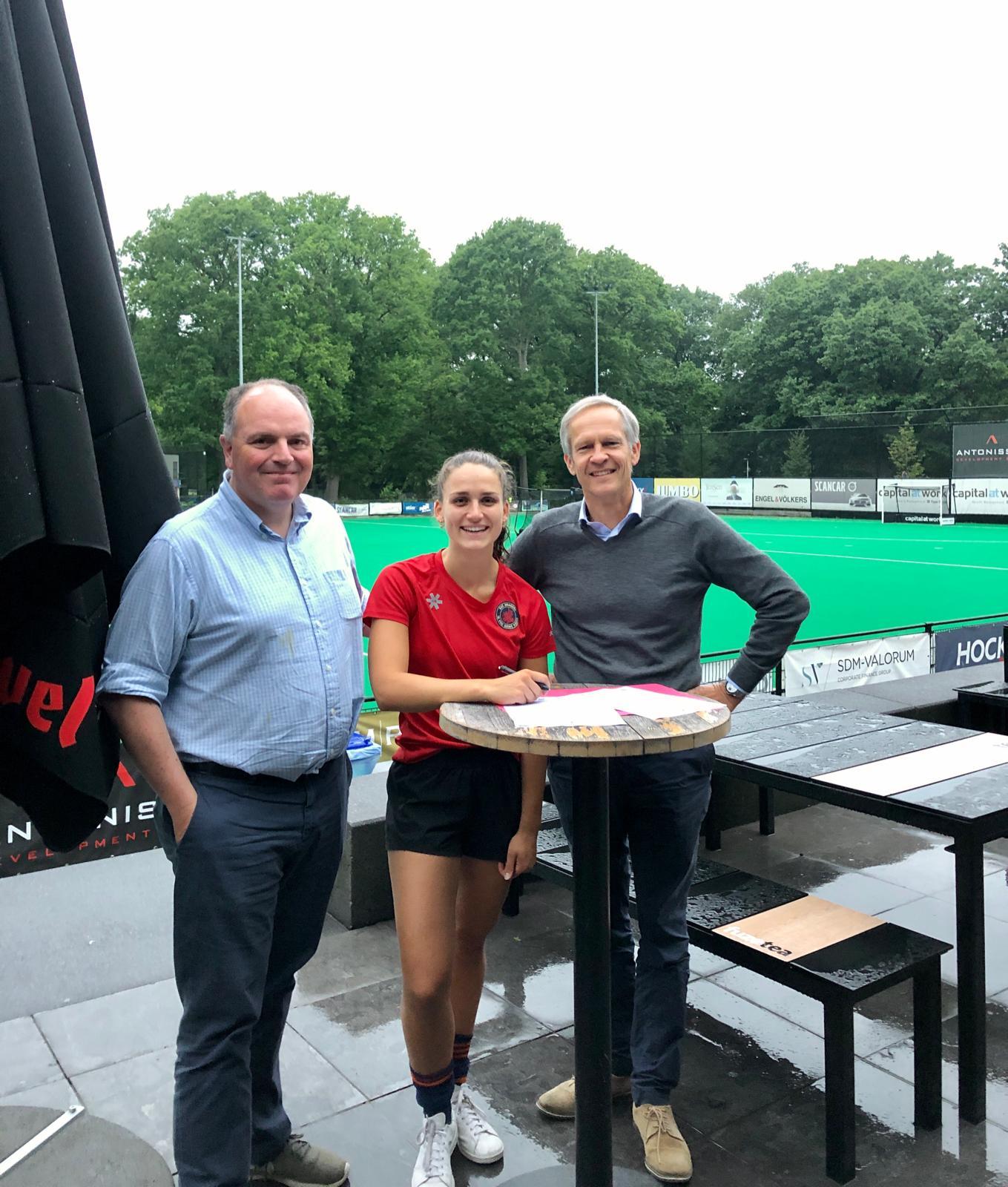 Keepster Roos Knijff verhuist naar België en neemt afscheid van SCHC