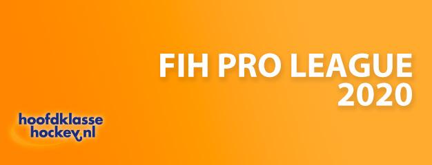 FIH verlengd de Pro League competitie tot juni 2021